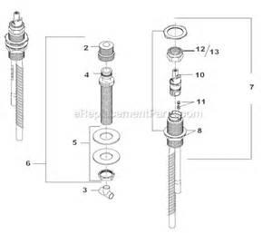 delta tub faucet replacement parts delta faucet r2700 parts list and diagram