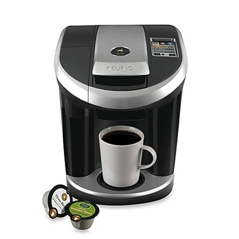 bed bath and beyond keurig keurig 174 vue 174 v700 single cup home brewing system bed