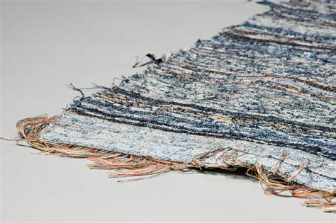Jean Rug by Post Recycled Nudie Are Turned Into Denim Rugs