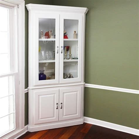 white corner cabinet dining room corner dining room hutch storage ideas homesfeed