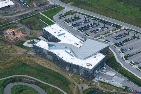 Telus Lookup Calgary Aerial Photo Telus Spark Science Centre