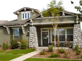 Home Exterior Design With Pillars Photos Hgtv