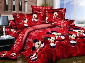 Cot Duvet And Pillow Set Mickey Mouse Quilt Duvet Doona Cover Set Double Queen King