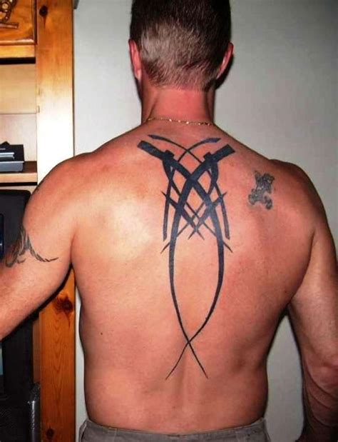 upper back tattoo ideas for men 40 most popular tribal tattoos for