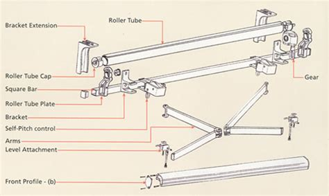 retractable awning hardware awning retractable awning parts