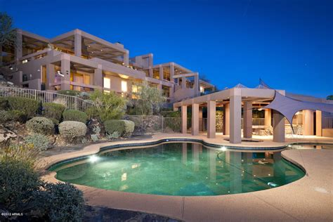 Mansion Houses by Amazing Paradise Valley Mansion On Sale For 5 9 Million