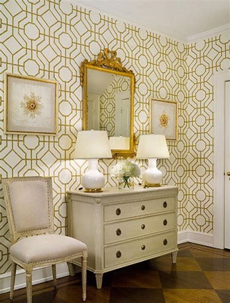 Wallpapered Bathrooms Ideas by Refresh Your Home Tip 9 Add Wallpaper English