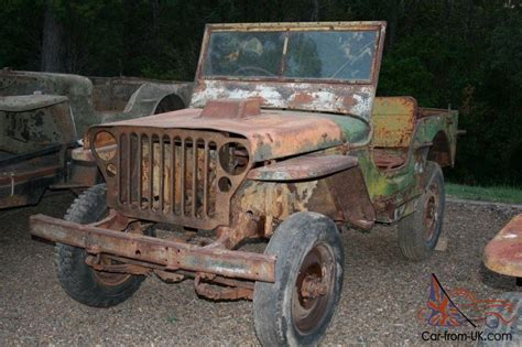 World War 2 Jeep For Sale Army Jeep Two Ford Gpw And One Willys Mb Ww2 In Bundaberg Qld