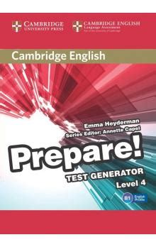 cambridge english prepare level 0521180546 cambridge english prepare test generator level 4 cd rom emma heyderman edited in