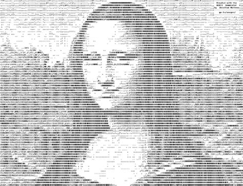codice ascii lettere disegni ascii creare foto e disegni con caratteri