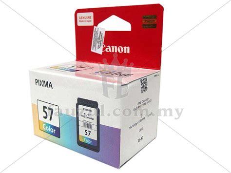 Murah Ink Cartridge Canon Pg 47 Cl 57 canon cl 57 fauzul enterprise