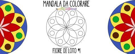 disegno fiori di loto disegno mandala fiore di loto 1 da colorare e da stare
