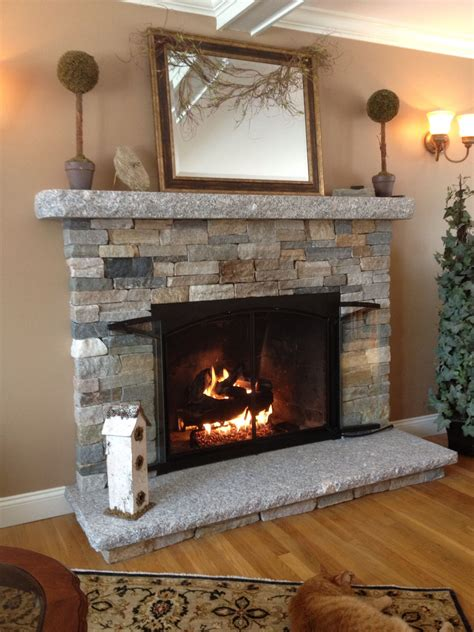 natural stone fireplace various ideas of stacked stone fireplace based on your