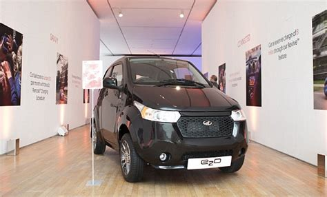 mahindra e2o sales is 163 13 000 for mahindra s new electric e2o city car