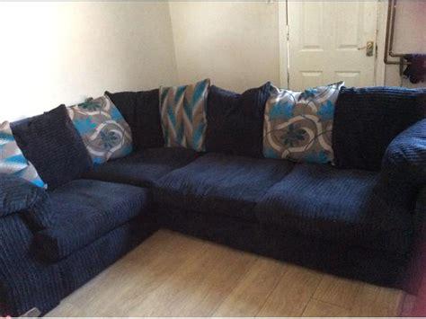 navy blue corner sofa gorgeous large navy blue jumbo cord fabric corner sofa