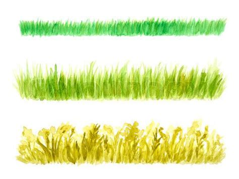 watercolor grass tutorial watercolor painting grass field google search how to