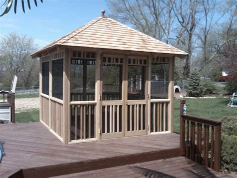 Cheap Gazebos With Sides For Sale 17 Best Ideas About Wooden Gazebo Kits On