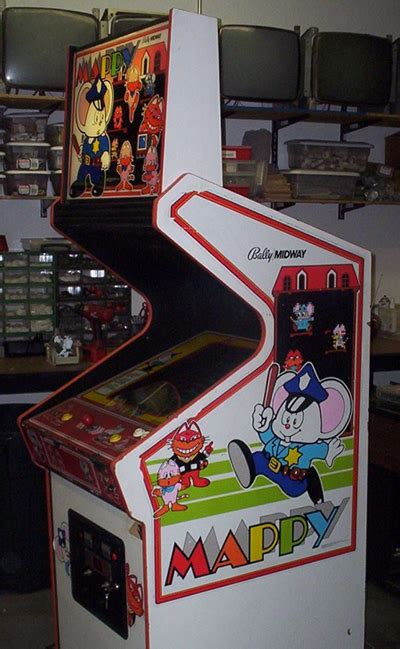 Mappy Arcade Cabinet by Mappy Side Cabinet Cabinets Arcade