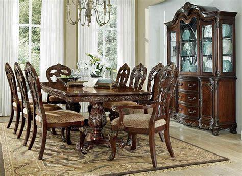 Home deryn park formal dining room table set