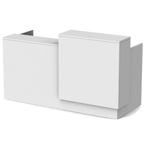 modern white reception desk modern white reception desk atwork office furniture canada