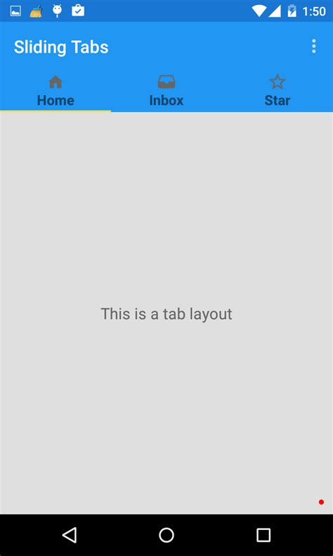 android design library tab layout exle tab layout material design support library tutorial