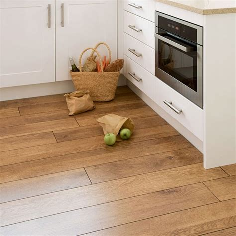 Laminate Flooring For Kitchens Uk Flooring Direct Harvest Oak Laminate Wood Flooring Housetohome Co Uk