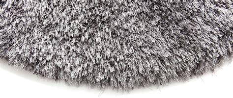 tappeto rotondo grigio tappeto rotondo 1m ugo grigio miliboo