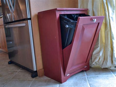 wood tilt out trash cabinet ana white wood tilt out trash or recycling cabinet diy