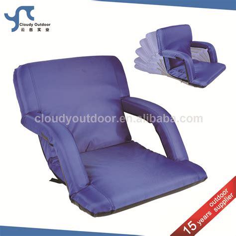 stadium recliner seats stadium recliner seats adjustable armrest foam padded