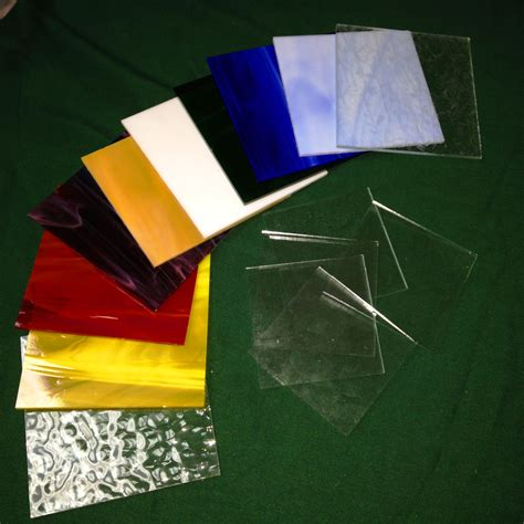 Stained Glass L Supplies by Stained Glass Sler Pack 10 Colors 4 Inch Squares