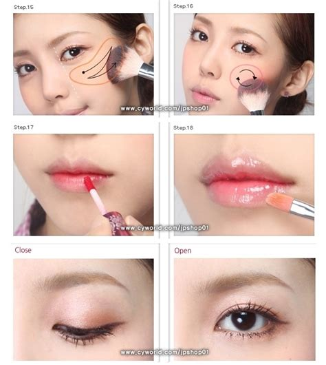 tutorial make up ala korea step by step quot girl next door quot korean makeup tutorial picture diy how to