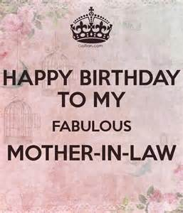 happy birthday wishes mother in law segerios