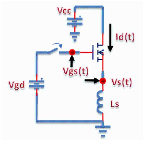 inductor intrinsic capacitance effect of source inductance on mosfet rise and fall times application center
