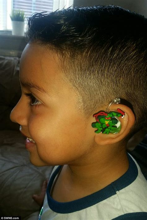 wraring hearing aid washed hair santiago lozada who was bullied over his hearing aids