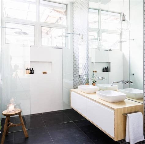Walk In Bath Shower Combo how to create space in a small bathroom bella vie