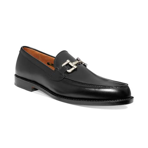 allen edmonds loafer allen edmonds st bit loafers in black for lyst