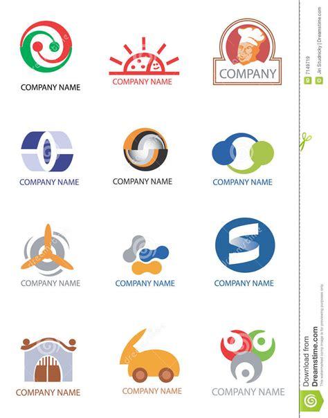 design elements company company logos design elements stock vector image 7149719