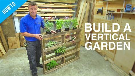 how to build a diy vertical wall garden