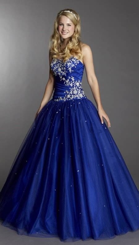 tulle full a line prom dress