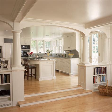 Kitchen Living Room Division 欧式开房式厨房实木地板装修效果图 土巴兔装修效果图