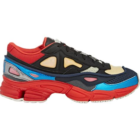 adidas raf simons adidas by raf simons ozweego 2 sneakers in red for men lyst
