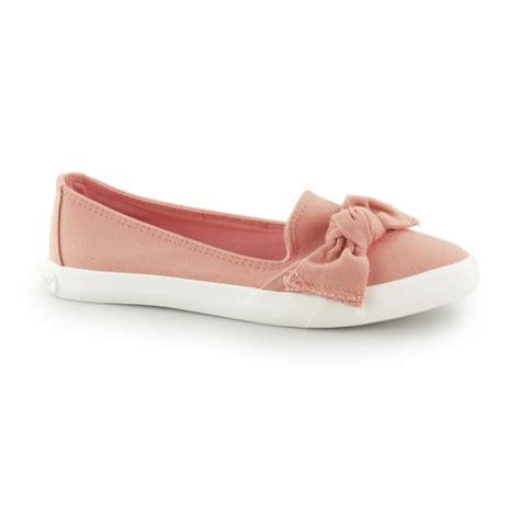 Flat Shoes Denim Wanita rocket clarita denim slip on bow flat shoes shuperb