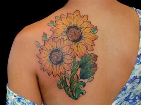 pretty back tattoo designs 85 pretty sunflower tattoos designs for back