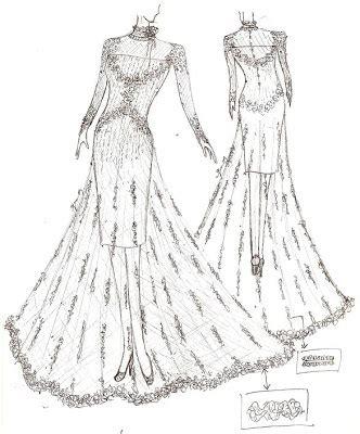 Gamis Pesta Lengan Balon payet gaun pesta desain baju pesta kebaya modern dan