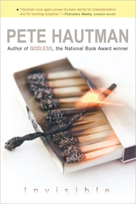 the invisible books invisible by pete hautman reviews discussion bookclubs