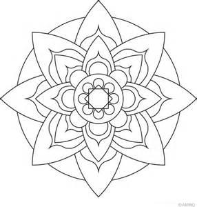 mandalas meditation coloring images