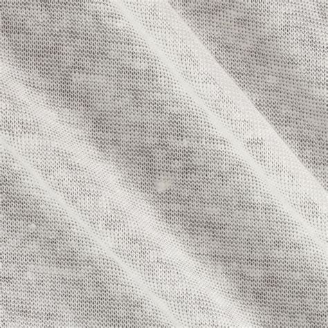 Lightweight Fabric For Curtains Linen Jersey Knit Ivory Discount Designer Fabric Fabric