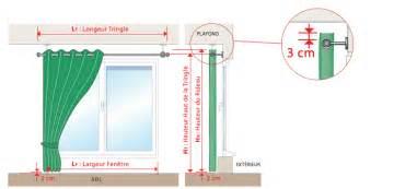 comment mesurer votre rideau avec oeillets