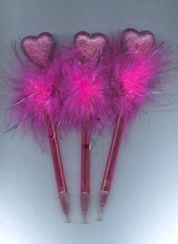 fluffy pens ebay