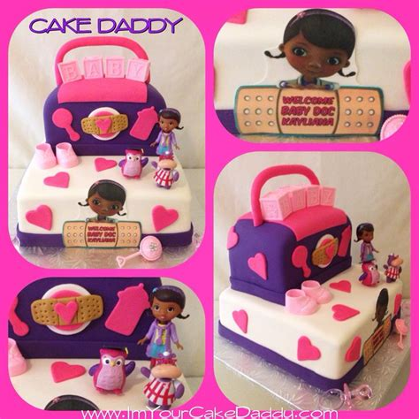 Doc Mcstuffins Baby Shower doc mcstuffins baby shower cake custom cakes by cake